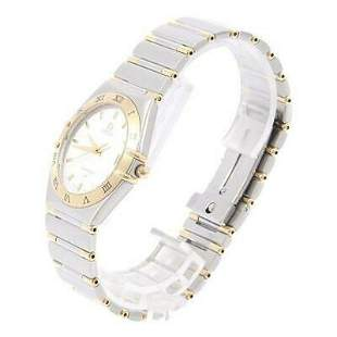 Authentic Omega 1312.30 Constellation Combi SSxYG