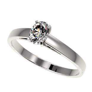 .50 ctw Certified VS/SI Quality Oval Diamond Engagment