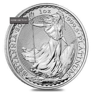 Great Britain 1 oz Platinum Britannia Coin .9995 Fine