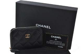 Authentic CHANEL  Coin Case