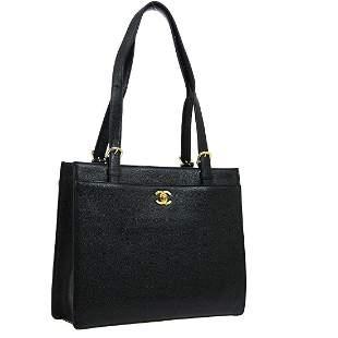 Authentic CHANEL  Shoulder Tote Bag