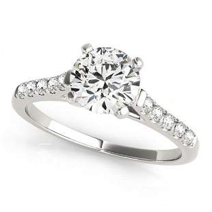 1.2 ctw Certified VS/SI Diamond Solitaire Ring 14k