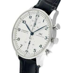 Authentic IWC Portugieser Chronograph IW371446 White