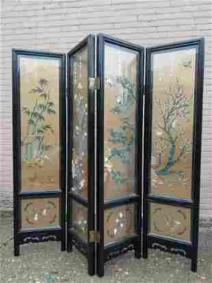 Johnson Carved Furniture Co. Asian Glass Enclosed