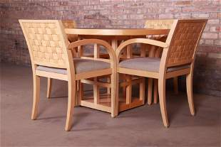 Geiger-Brickel Modern Dining or Game Table and Chairs