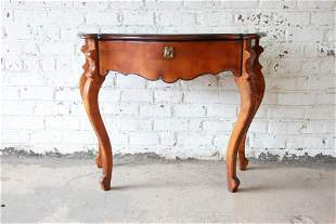 Baker Furniture Milling Road French Console Tables
