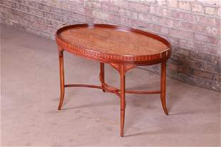 Baker Furniture Historic Charleston Inlaid Mahogany and