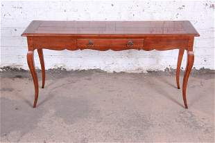 Henredon French Country Louis XV Style Console Table