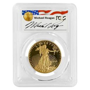 2010 W 1 oz $50 Proof Gold American Eagle PCGS PF 70