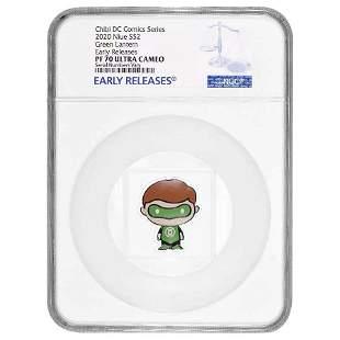 2020 1 oz Colorized Silver DC Comics - Green Lantern -