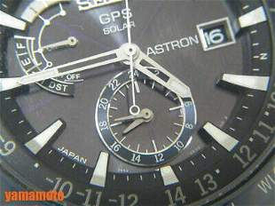 Authentic SEIKO ASTRON men GPS radio wave ceramic
