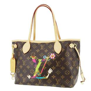 Authentic LOUIS VUITTON  Neverfull Pm Tote Bag
