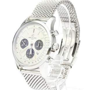 Authentic Breitling Transocean AB0152 Chronograph