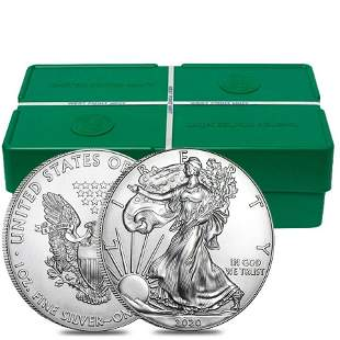 Monster Box of 500 - 2020 1 oz Silver American Eagle $1