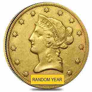 $10 Gold Eagle Liberty Head - Extra Fine XF (Random
