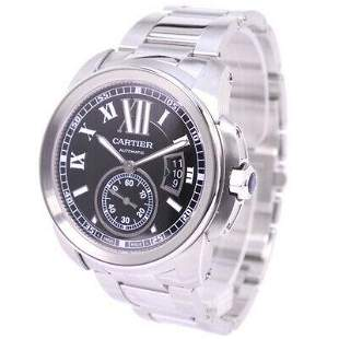 Authentic Cartier Caliber de Cartier W7100016 Silver