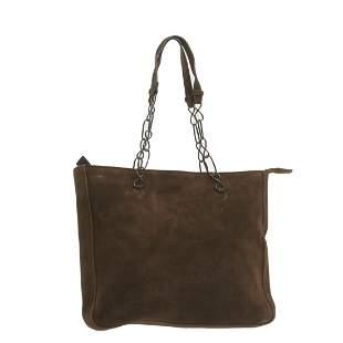 Authentic PRADA Suede Hand Bag