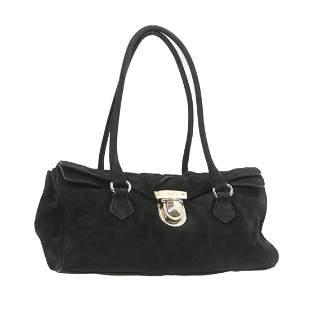 Authentic PRADA Suede Shoulder Bag