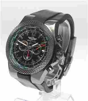 Authentic Breitling Bentley M47362 Chronograph GMT