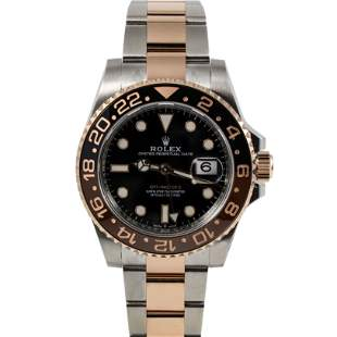 Authentic Rolex Submariner Stainless Steel / 18KT Rose