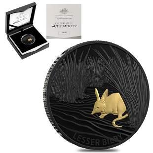 2019 1 oz Proof Silver Lesser Bilby Royal Australian
