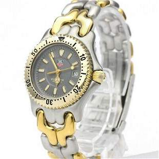 Authentic Tag Heuer Professional WG1320 Gold Plated