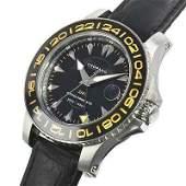 Authentic CHOPARD LUC Pro One GMT 168959 Men's Black