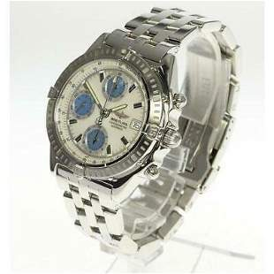 Authentic Breitling Chronograph Wind Rider A13352