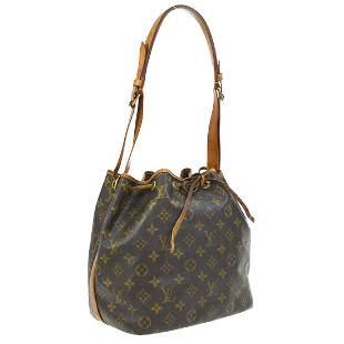 Authentic LOUIS VUITTON  Petit Noe Shoulder Bag