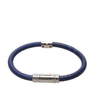 Authentic Louis Vuitton Leather Bracelet