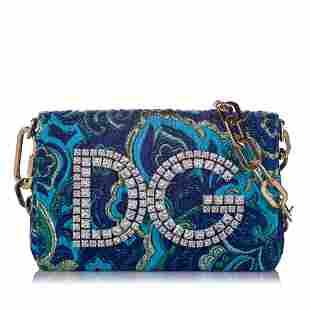Authentic Dolce&Gabbana DG Girls Embellished Chain