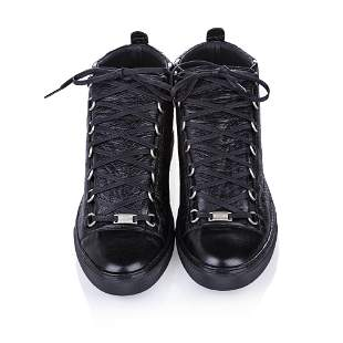Authentic Balenciaga Classic Arena High Top Leather
