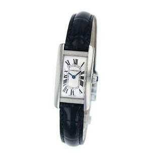 Authentic Cartier Tank American WSTA0016 Stainless
