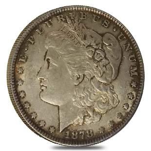 1878 Morgan Silver Dollar $1 7/8 Tailfeathers AU