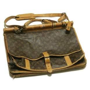 Authentic LOUIS VUITTON Monogram Sac Kleber Travel Bag