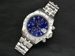 Authentic Tudor Chrono Time Prince Date Tiger Woods