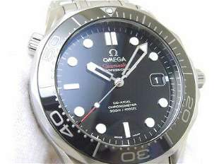 Authentic Omega Seamaster Pro Divers 300M Black