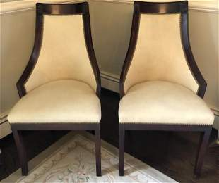 Pair of  Napoleonic Side Chairs