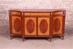 Ethan Allen Regency Flame Mahogany and Satinwood
