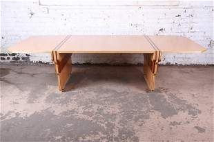 Pierre Paulin for Baker Furniture Bird's-Eye Maple and