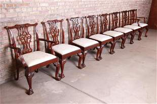 Baker Furniture Stately Homes Chippendale Carved