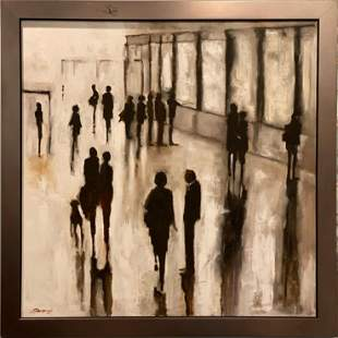 """Original Painting - """"Grand Central Station"""""""