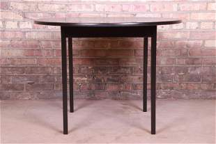Jens Risom Mid-Century Modern Black Lacquered Game