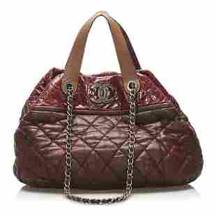 Authentic Chanel Classic In the Mix Lambskin Leather