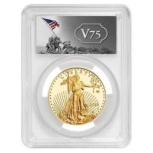 2020-W V75 Privy 1 oz Proof Gold American Eagle End of