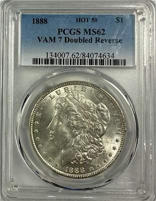 Morgan Silver Dollar Vam-7