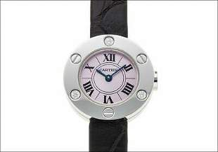 Authentic Cartier Love Watch Ref.WE801231 Diamond Lilac