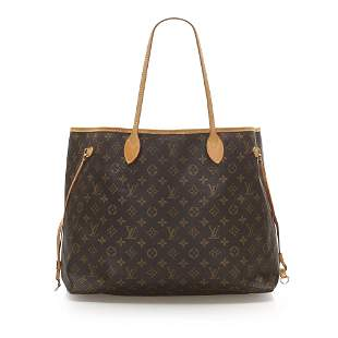 Authentic Louis Vuitton Monogram Neverfull GM