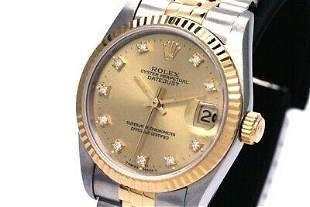 Authentic ROLEX number S boys AT datejust 68273G
