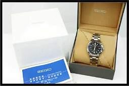 Authentic Seiko Selection SBTM273 World Time Solar